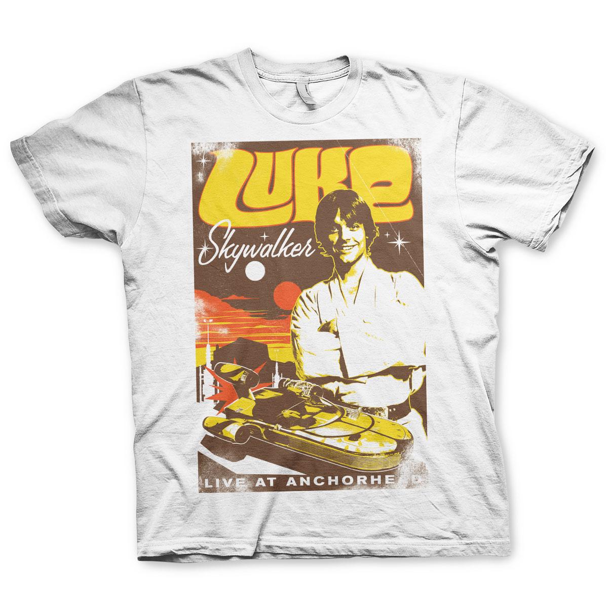 Luke Skywalker - Live At Anchorhead T-Shirt