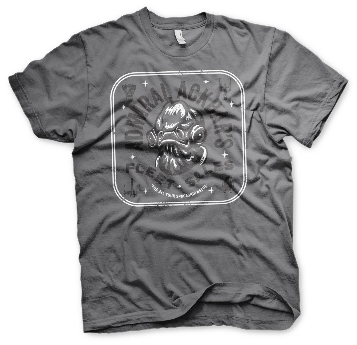 Admiral Ackbar's Fleet Sales T-Shirt