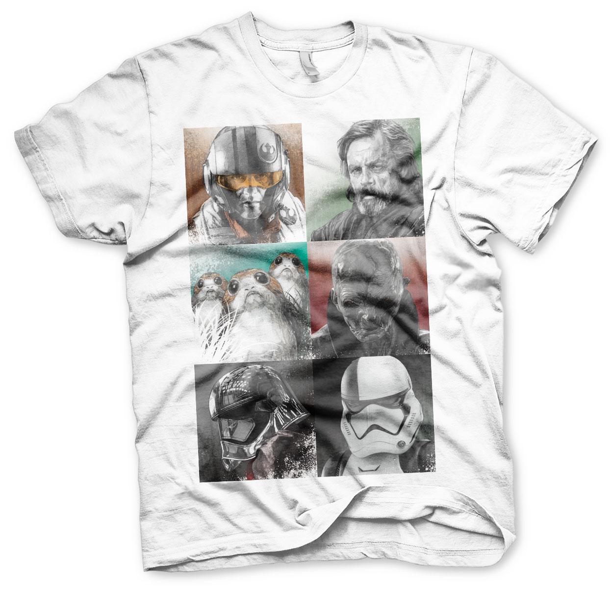 The Last Jedi Characters T-Shirt