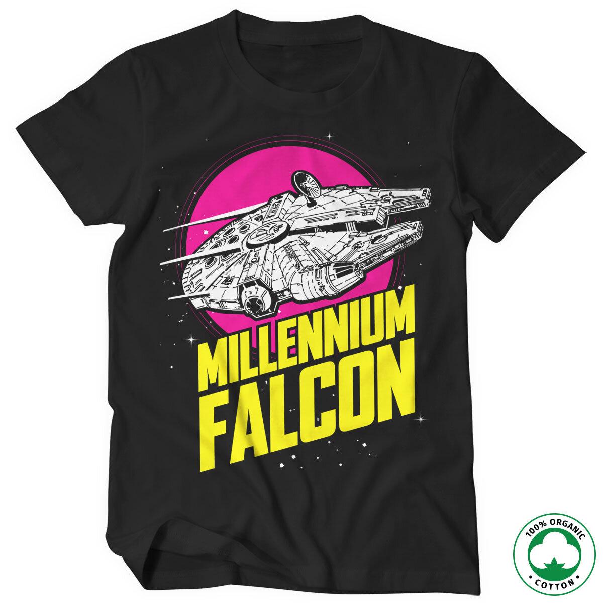 Millennium Falcon Retro Organic Tee