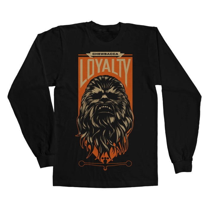 Chewbacca Loyalty Long Sleeve Tee