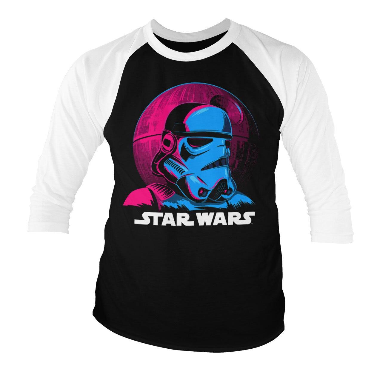 Star Wars - Colorful Trooper Baseball 3/4 Sleeve Tee