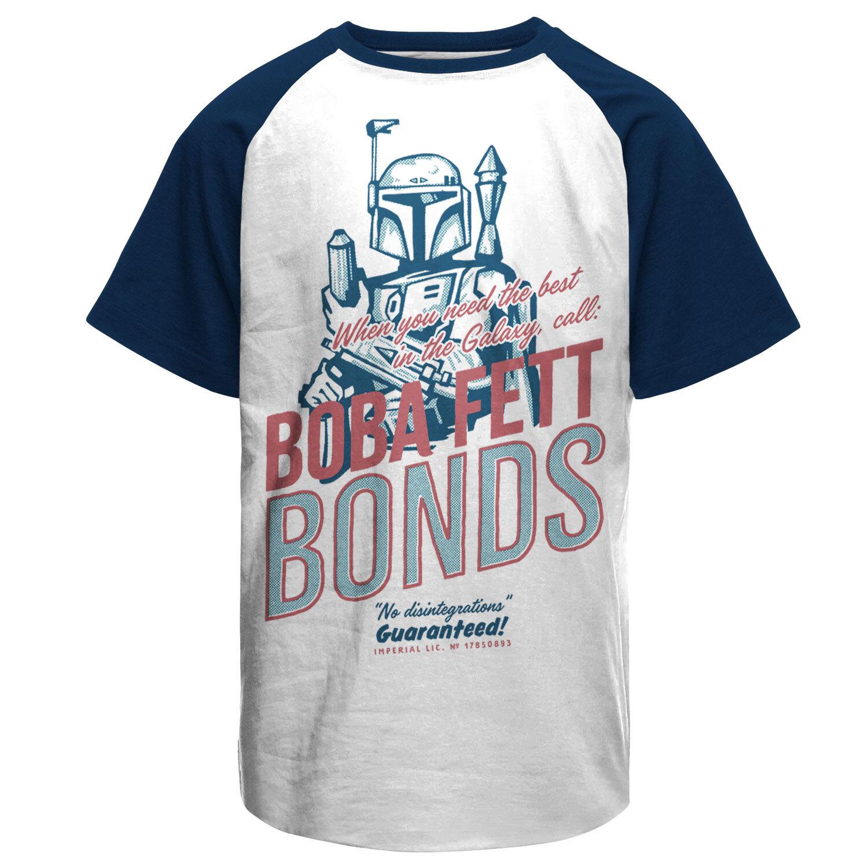 Boba Fett Bonds Baseball T-Shirt