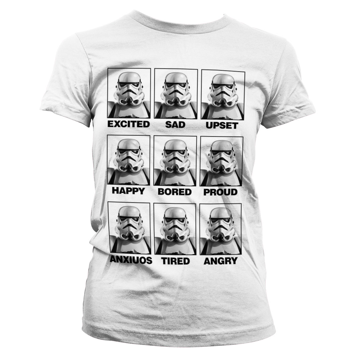 Moods Of A Stormtrooper Girly Tee