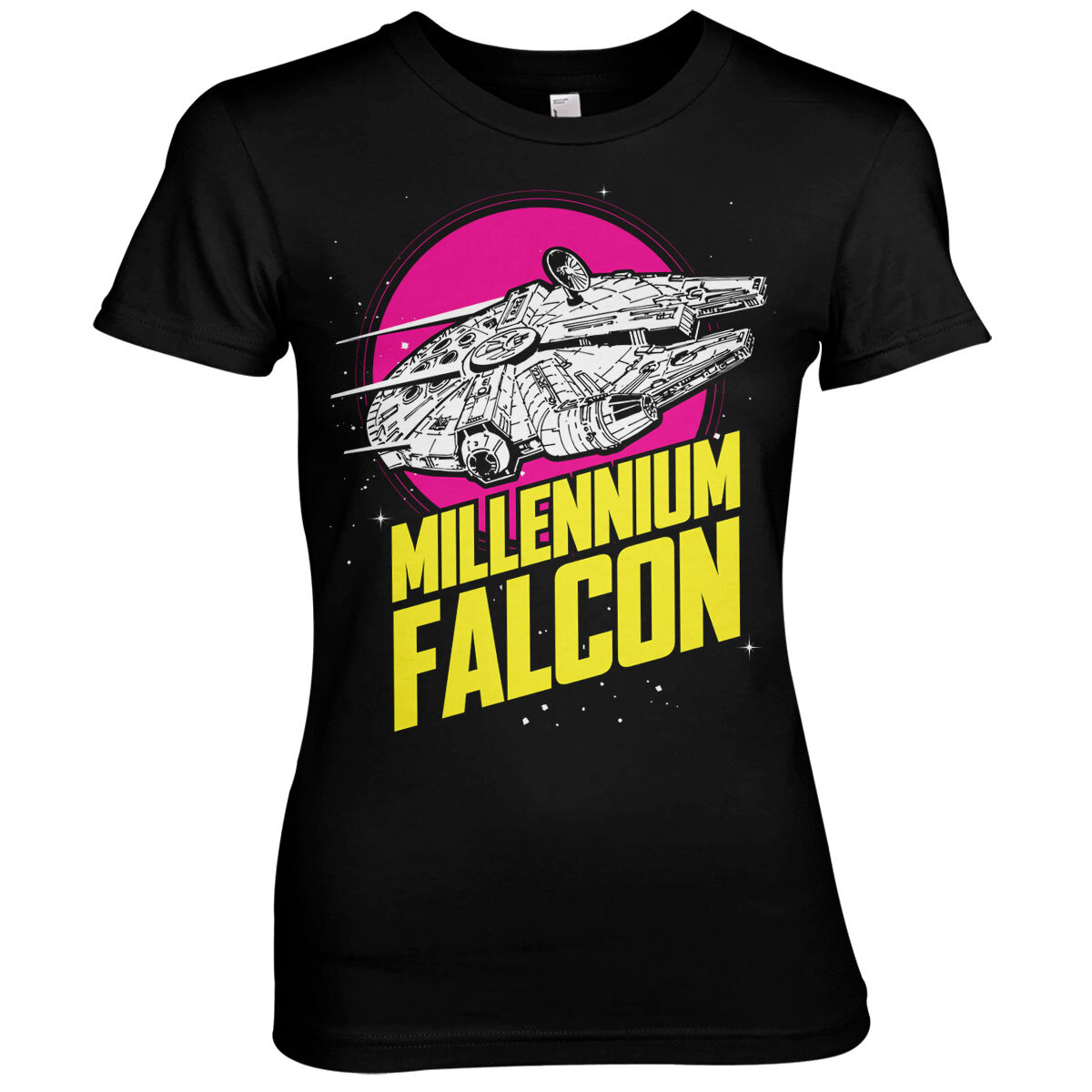 Millennium Falcon Retro Girly Tee