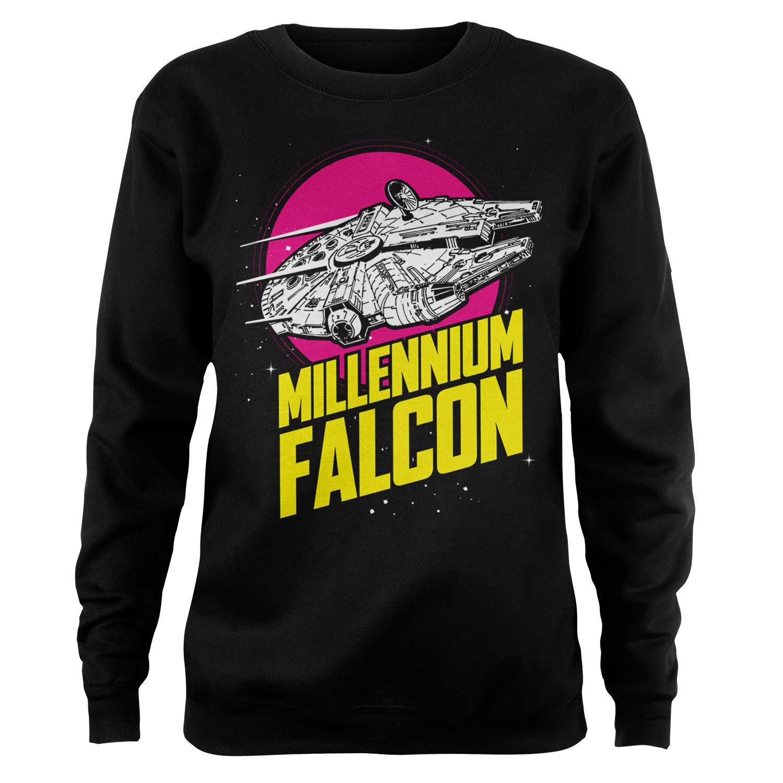 Millennium Falcon Retro Girly Sweatshirt