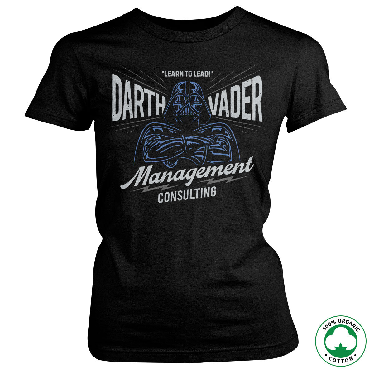 Darth Vader Management Consulting Organic Girly Tee