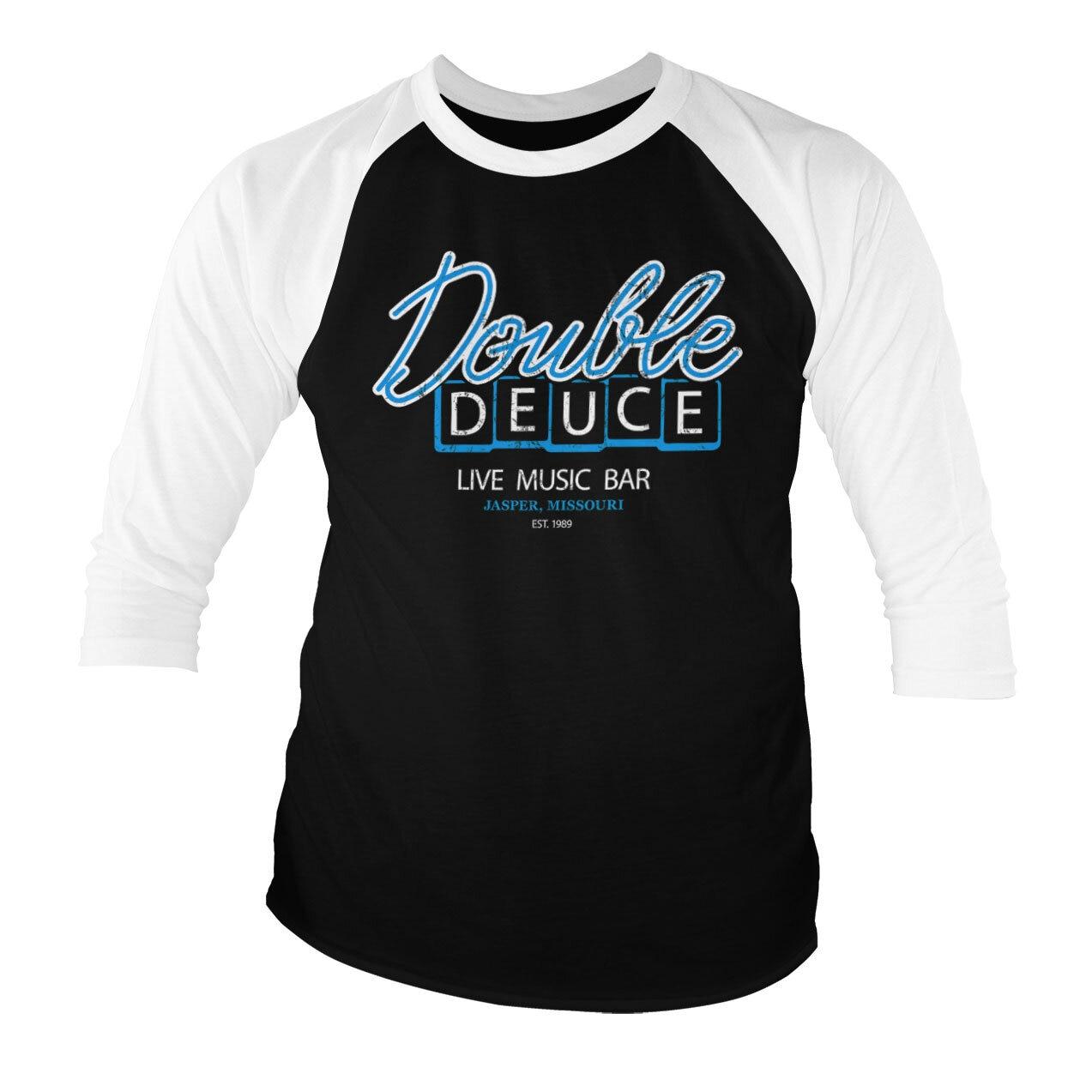 Double Deuce Live Bar Baseball 3/4 Sleeve Tee