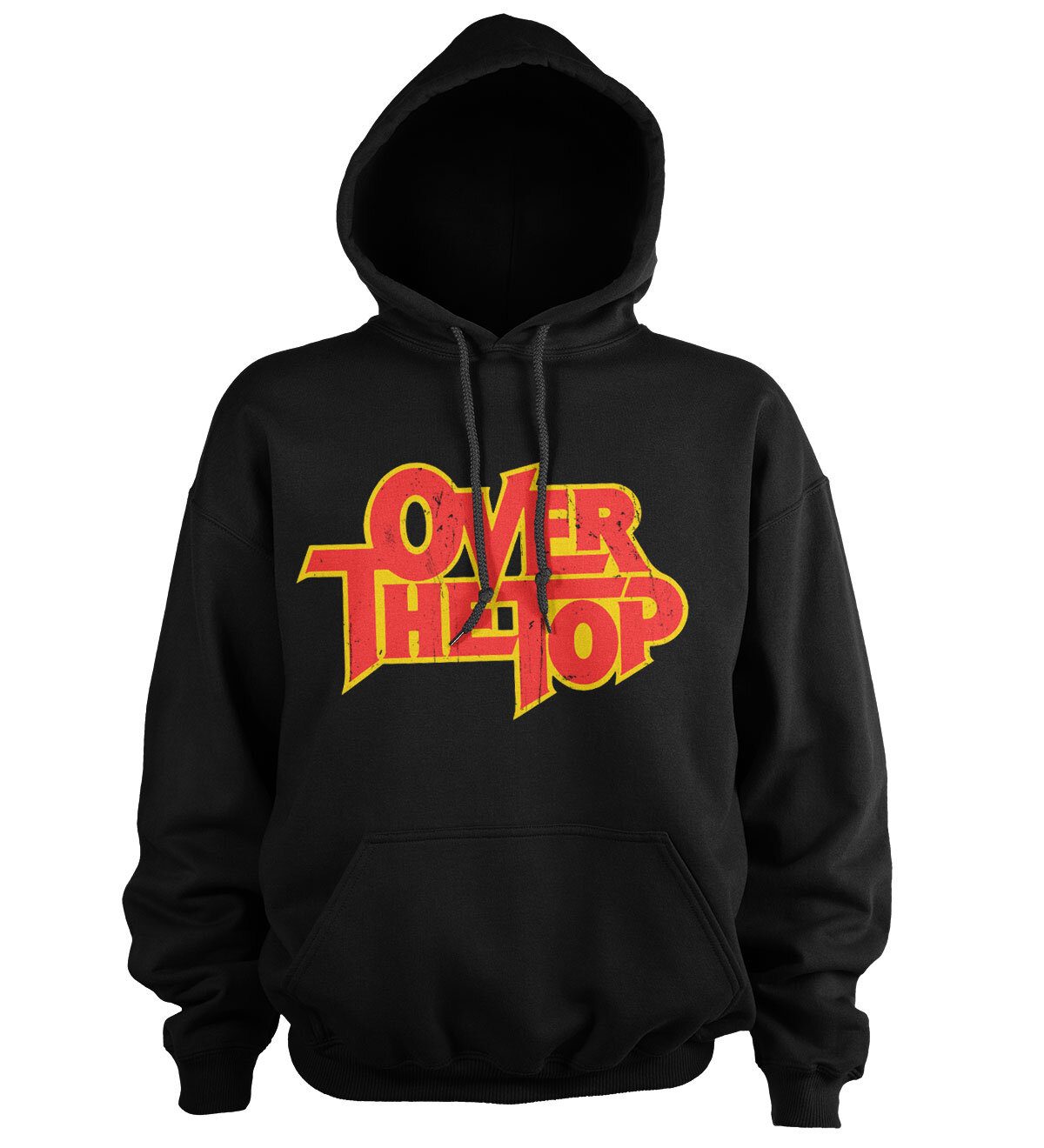 Over The Top Washed Logo Hoodie