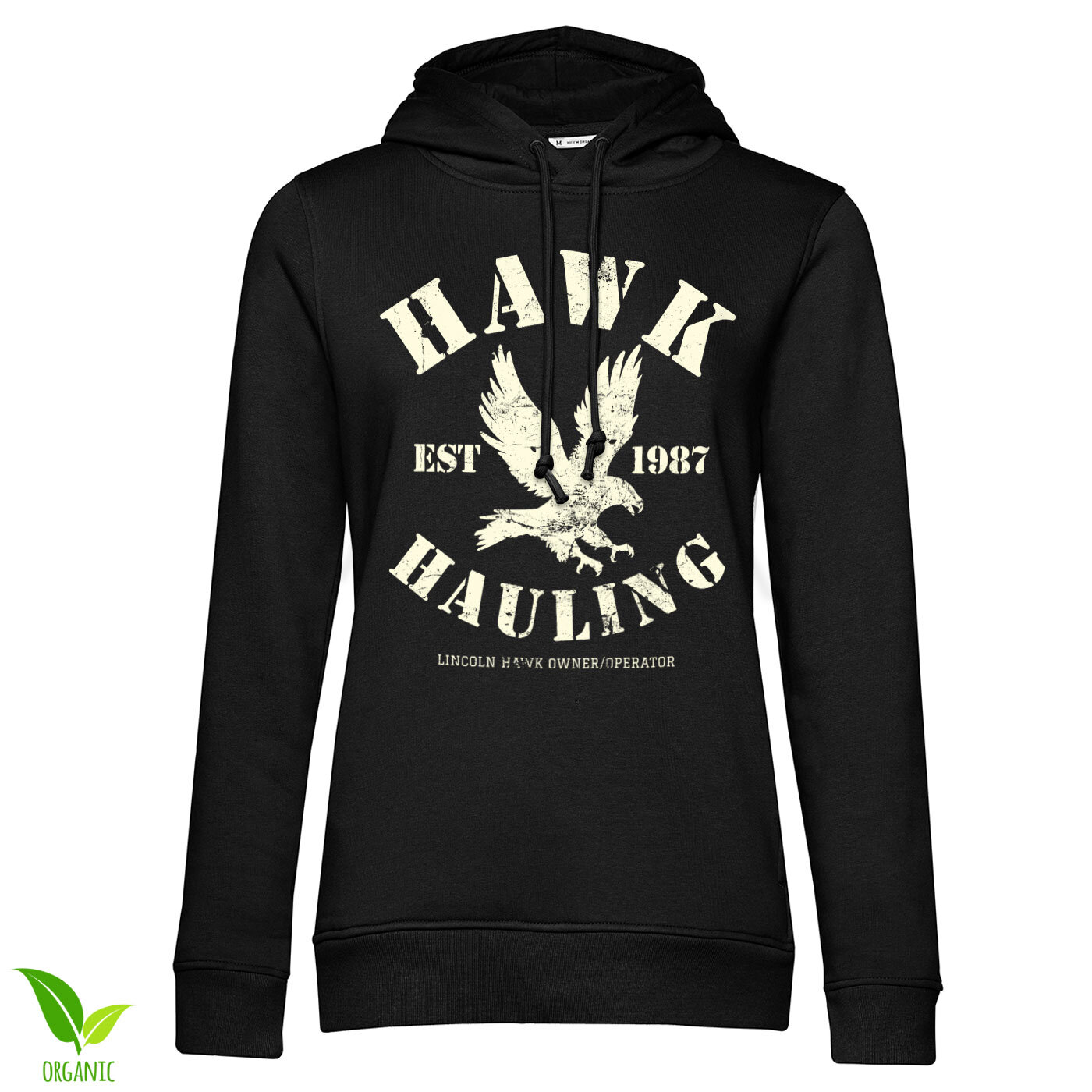 Hawk Hauling Girls Hoodie