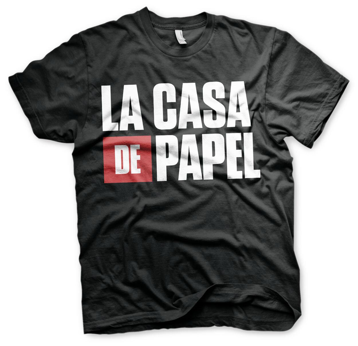 La Casa De Papel Logo T-Shirt