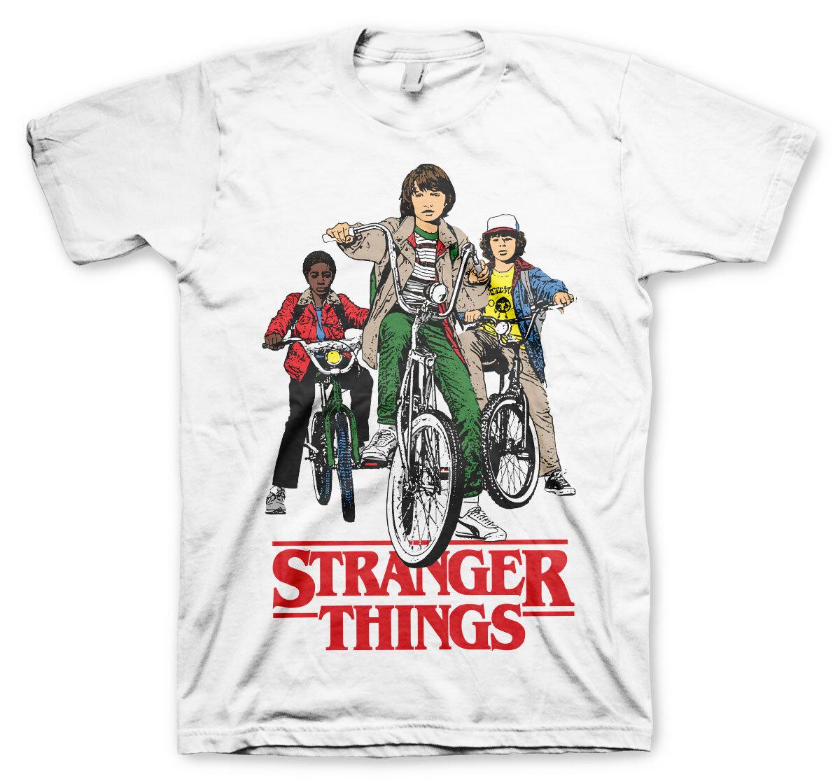 Stranger Things Bikes T-Shirt