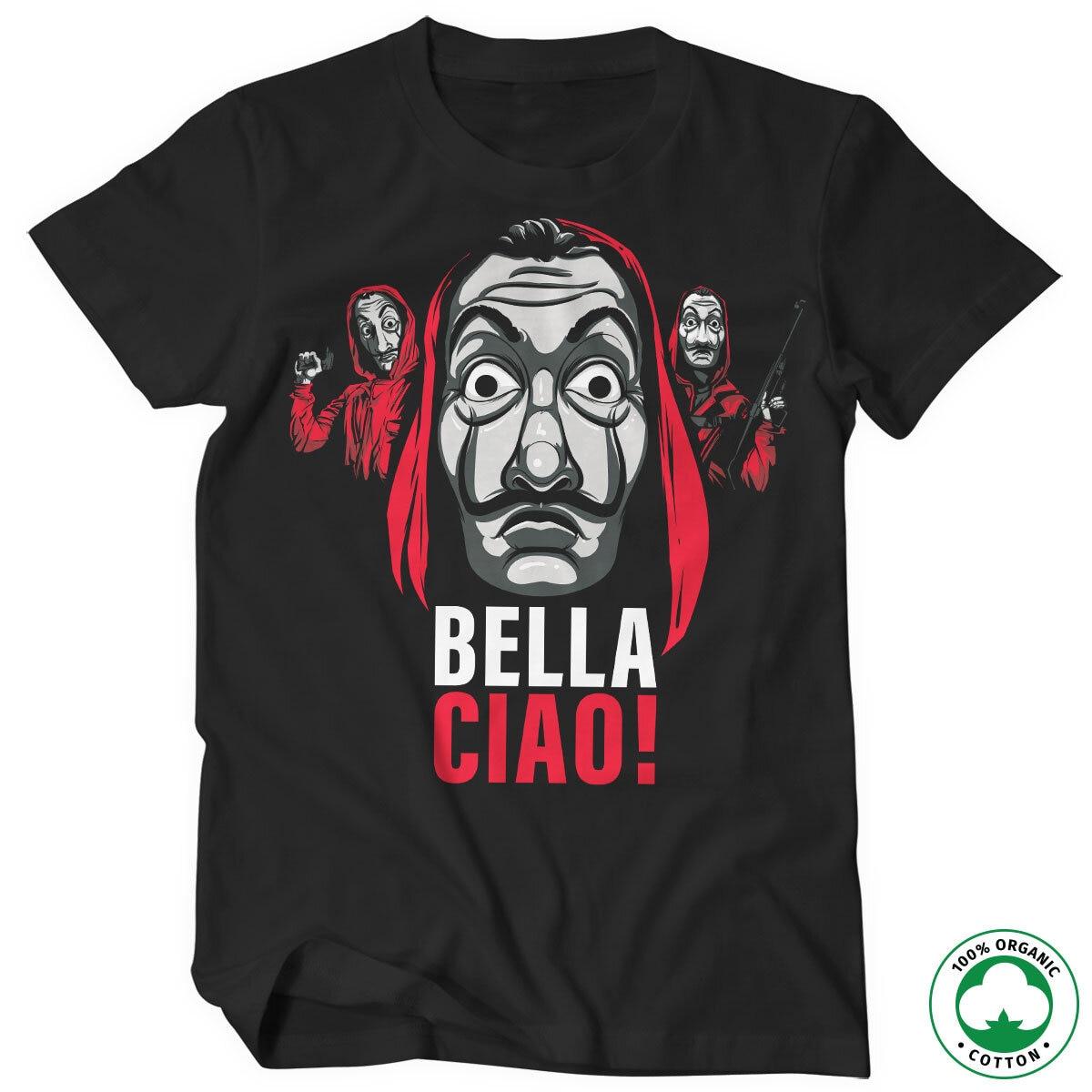 La Casa De Papel - Bella Ciao! Organic T-Shirt