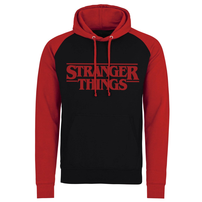 Stranger Things Logo Baseball Hoodie