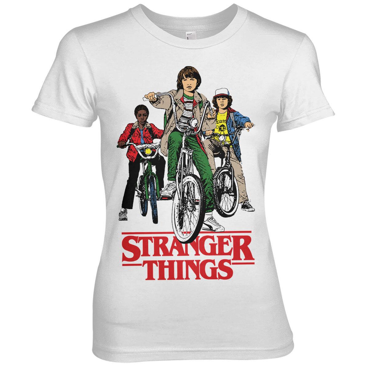 Stranger Things Bikes Girly Tee