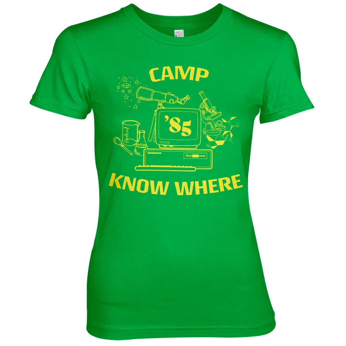 Camp Know Where Girly Tee
