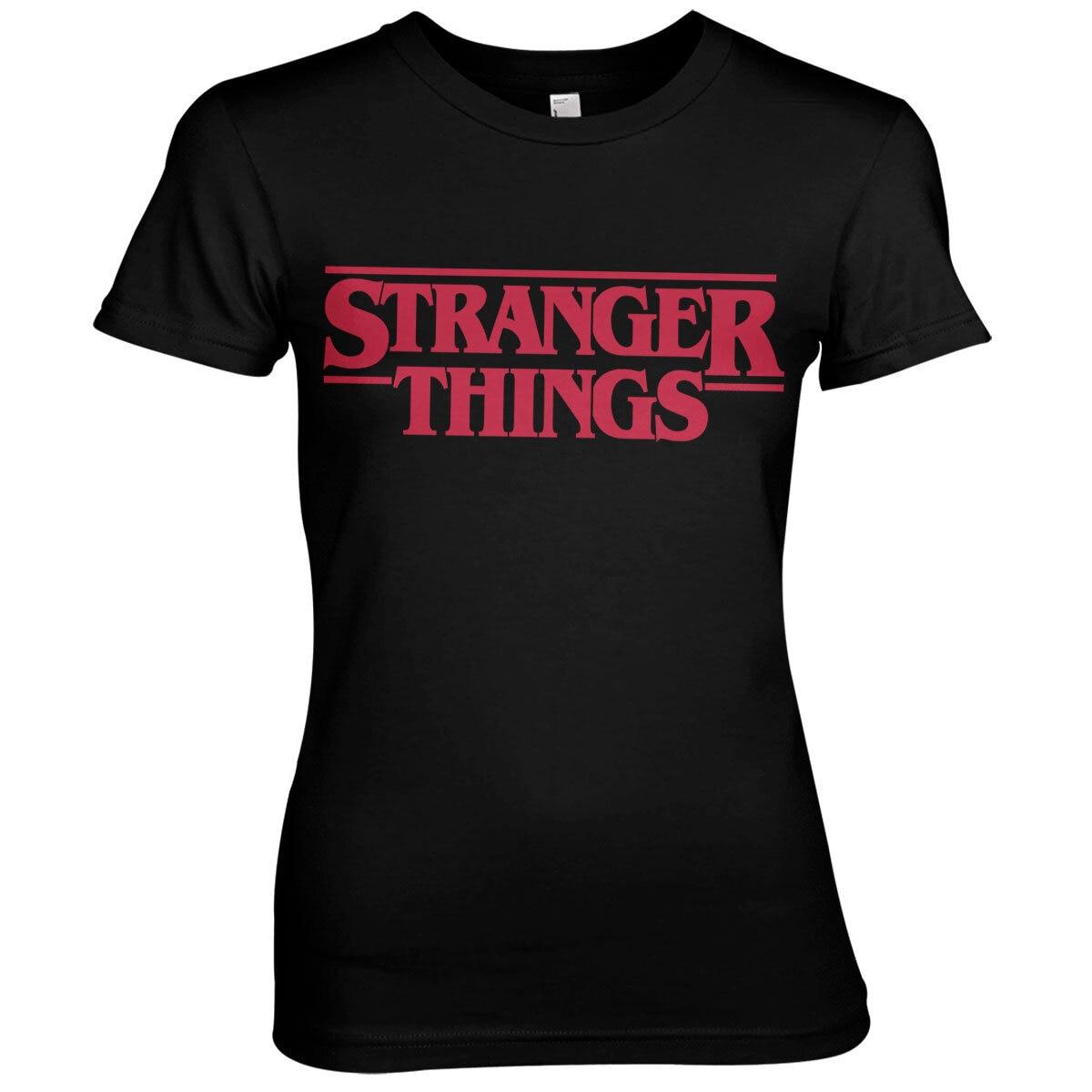 Stranger Things Logo Girly Tee