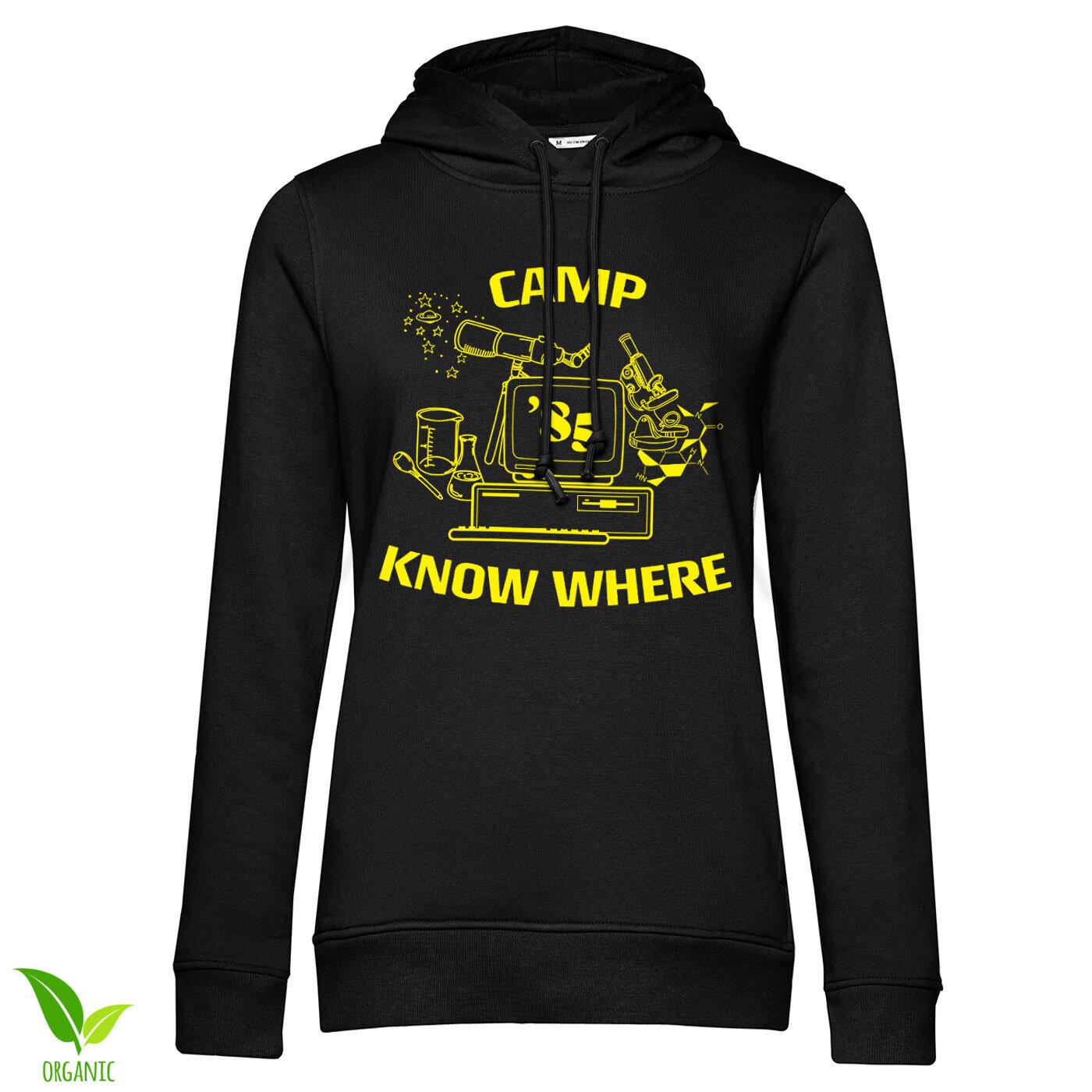 Camp Know Where Girls Hoodie