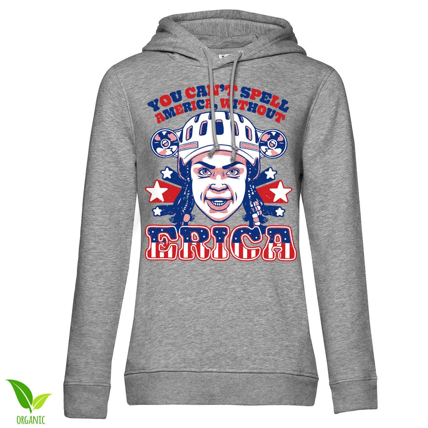 You Can't Spell America Without Erica Girls Hoodie