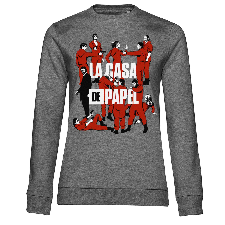 La Casa De Papel - La Pandilla Girly Sweatshirt