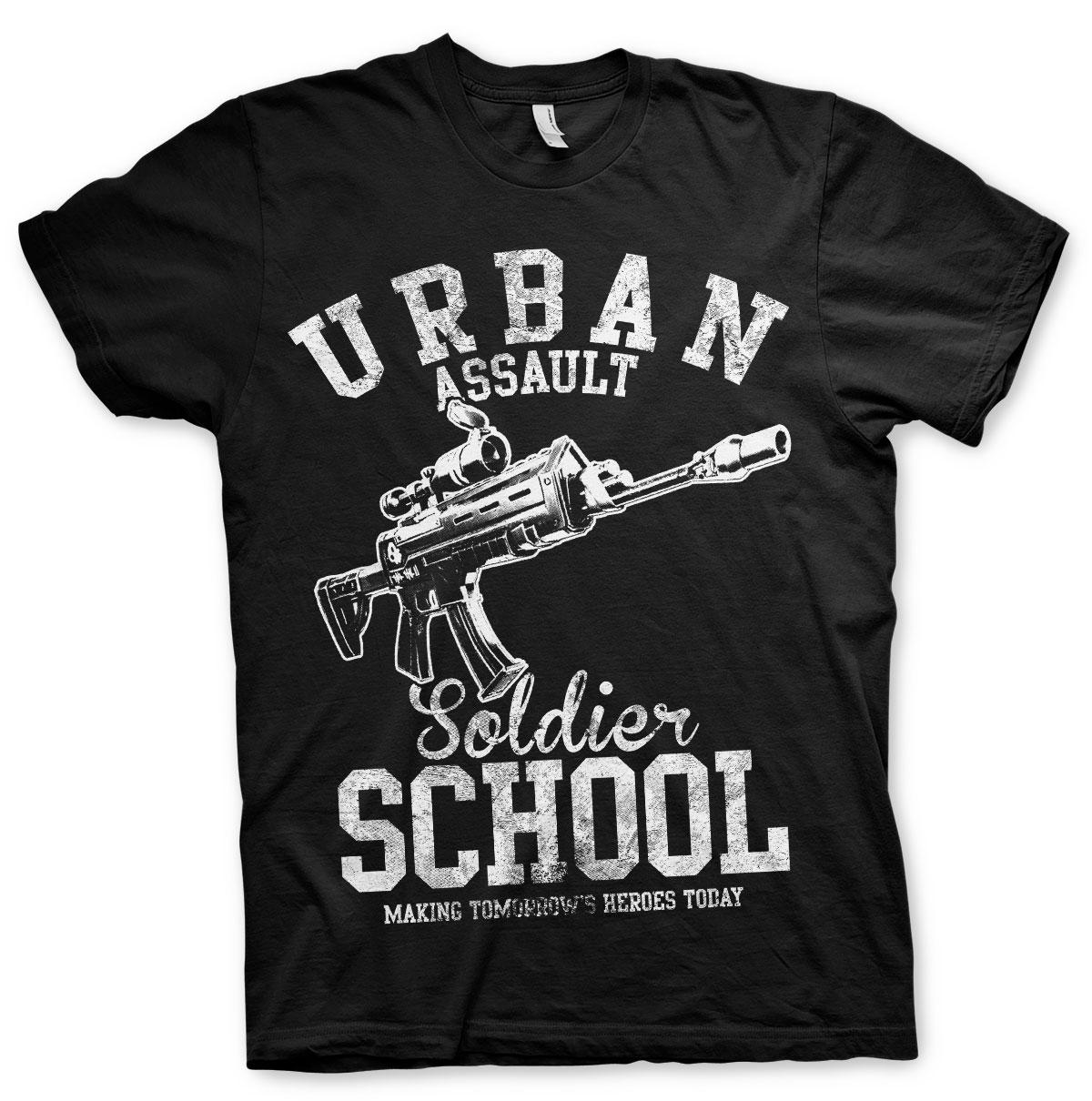 Urban Assault Soldier School T-Shirt
