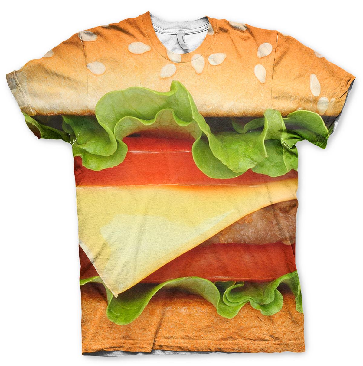 Burger Allover T-Shirt