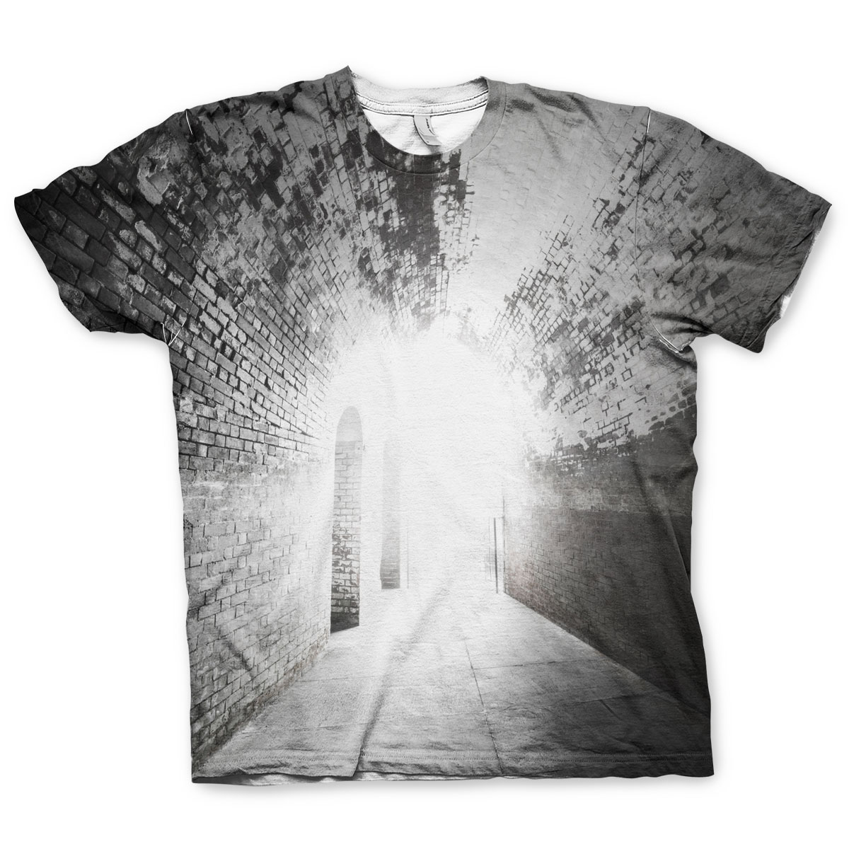 End Of The Tunnel Allover T-Shirt