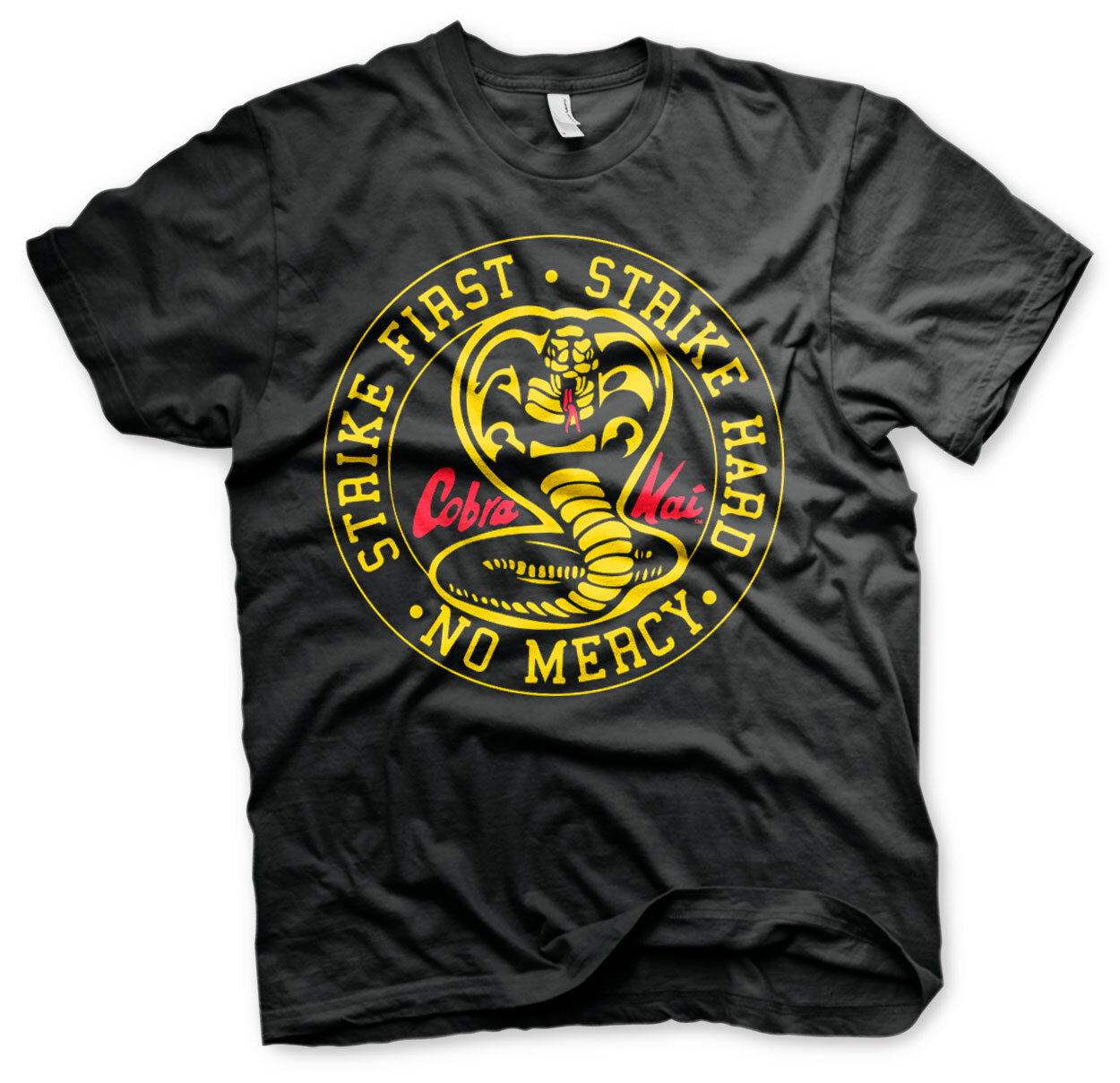Cobra Kai Round Patch T-Shirt