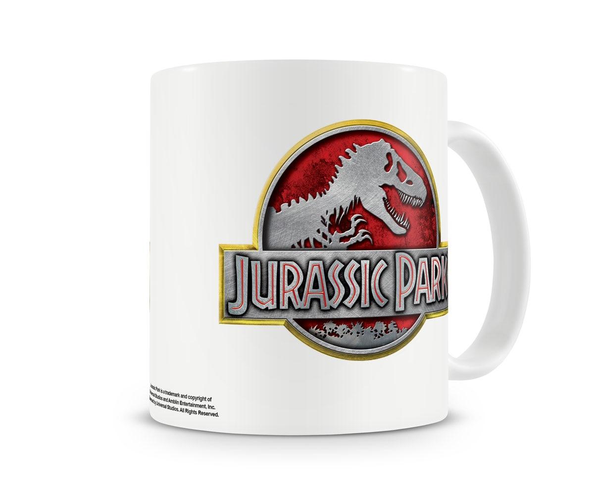 Jurassic Park Metallic Logo Coffee Mug