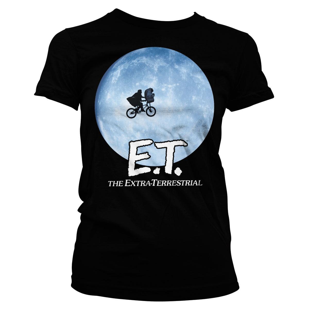 E.T. Bike In The Moon Girly Tee