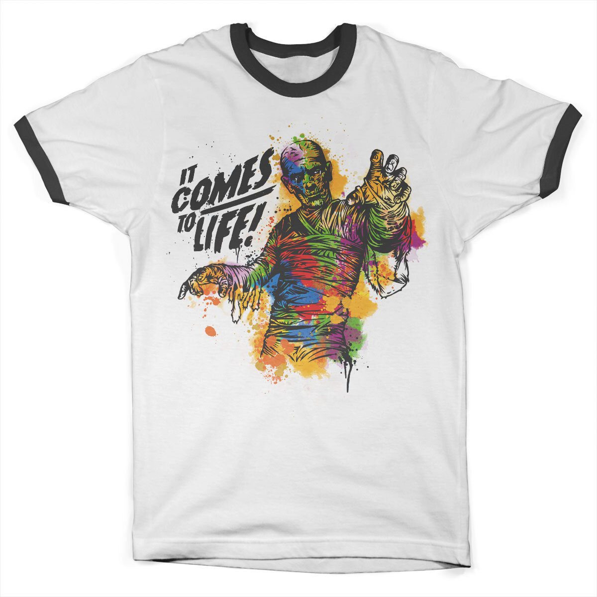 Colorful Mummy Ringer Tee