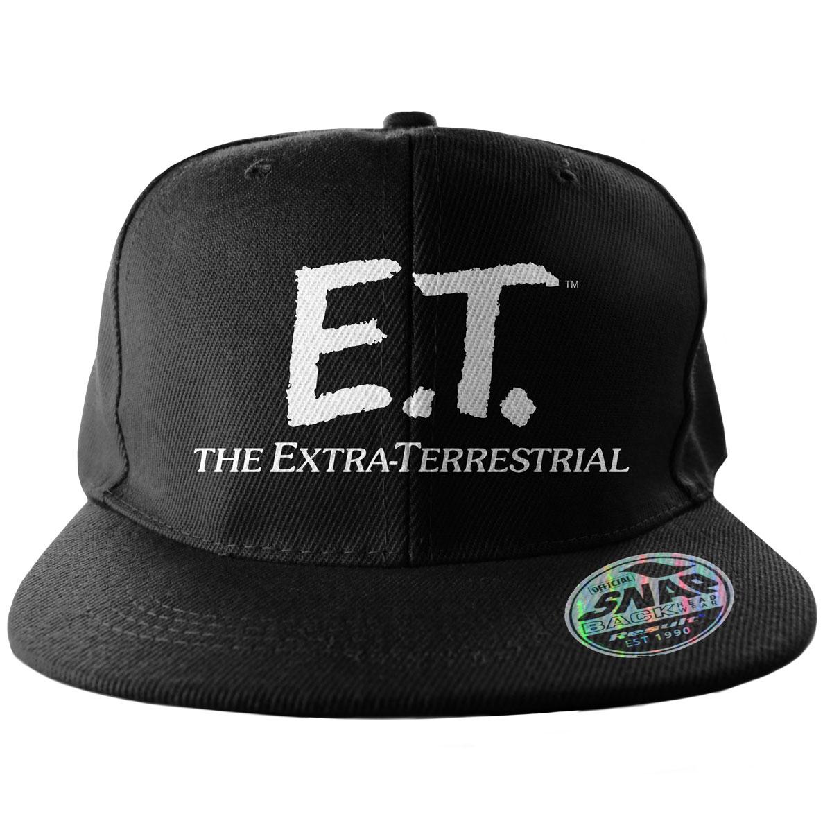 E.T. Extra-Terrestrial Logo Snapback Cap