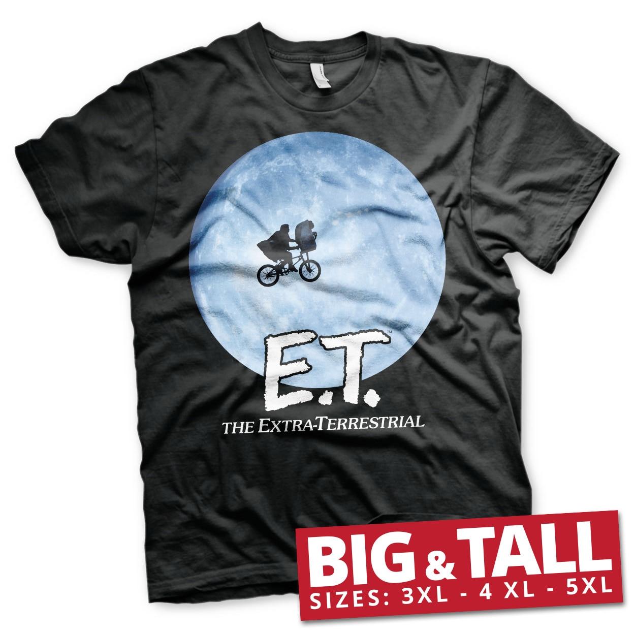 E.T. Bike In The Moon Big & Tall T-Shirt