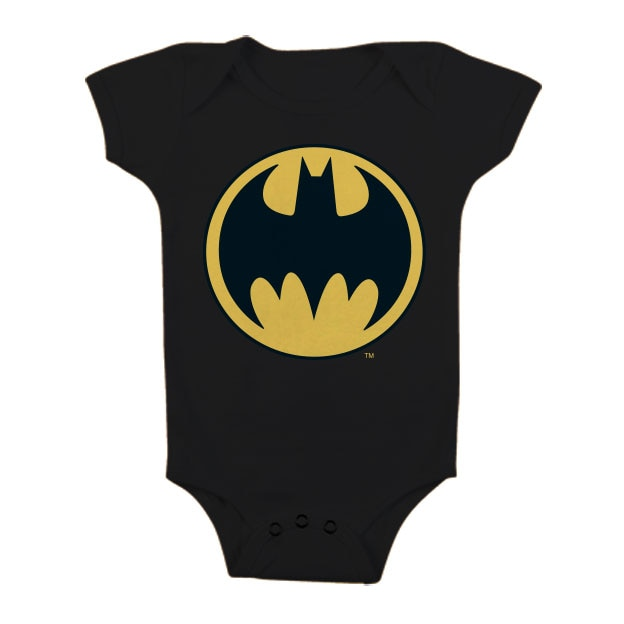 Batman Signal Logo Baby Body