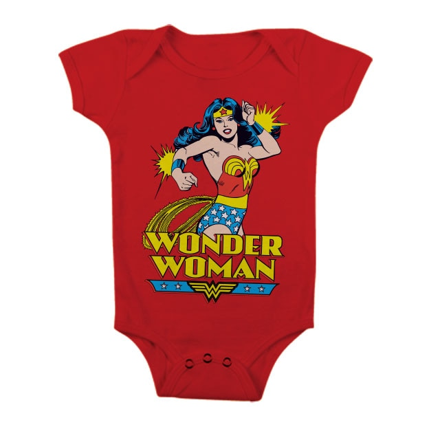 Wonder Woman Baby Body