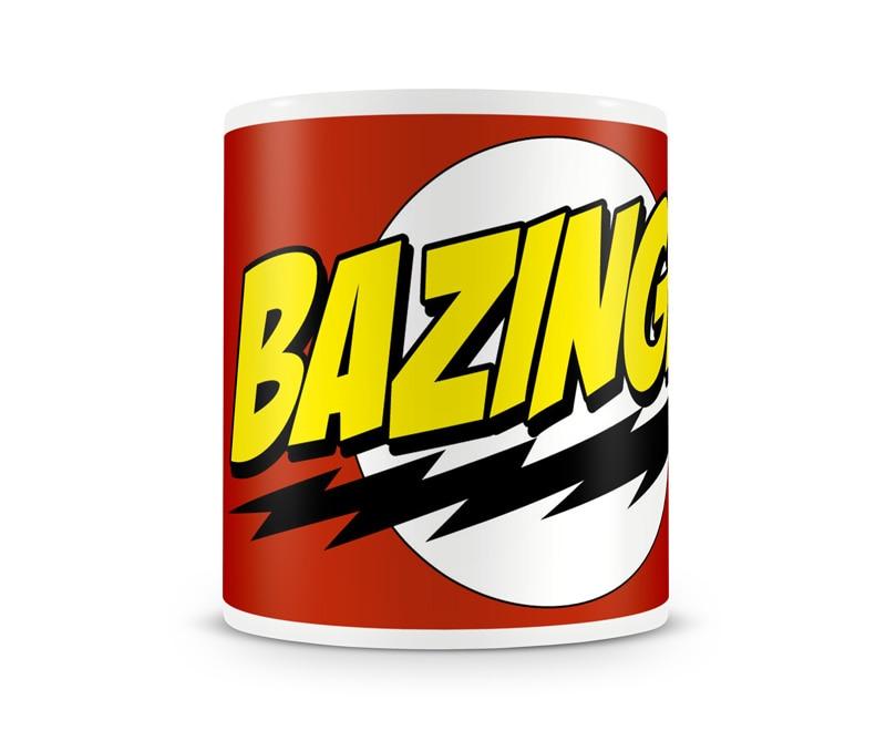 Bazinga Super Logo Coffee Mug