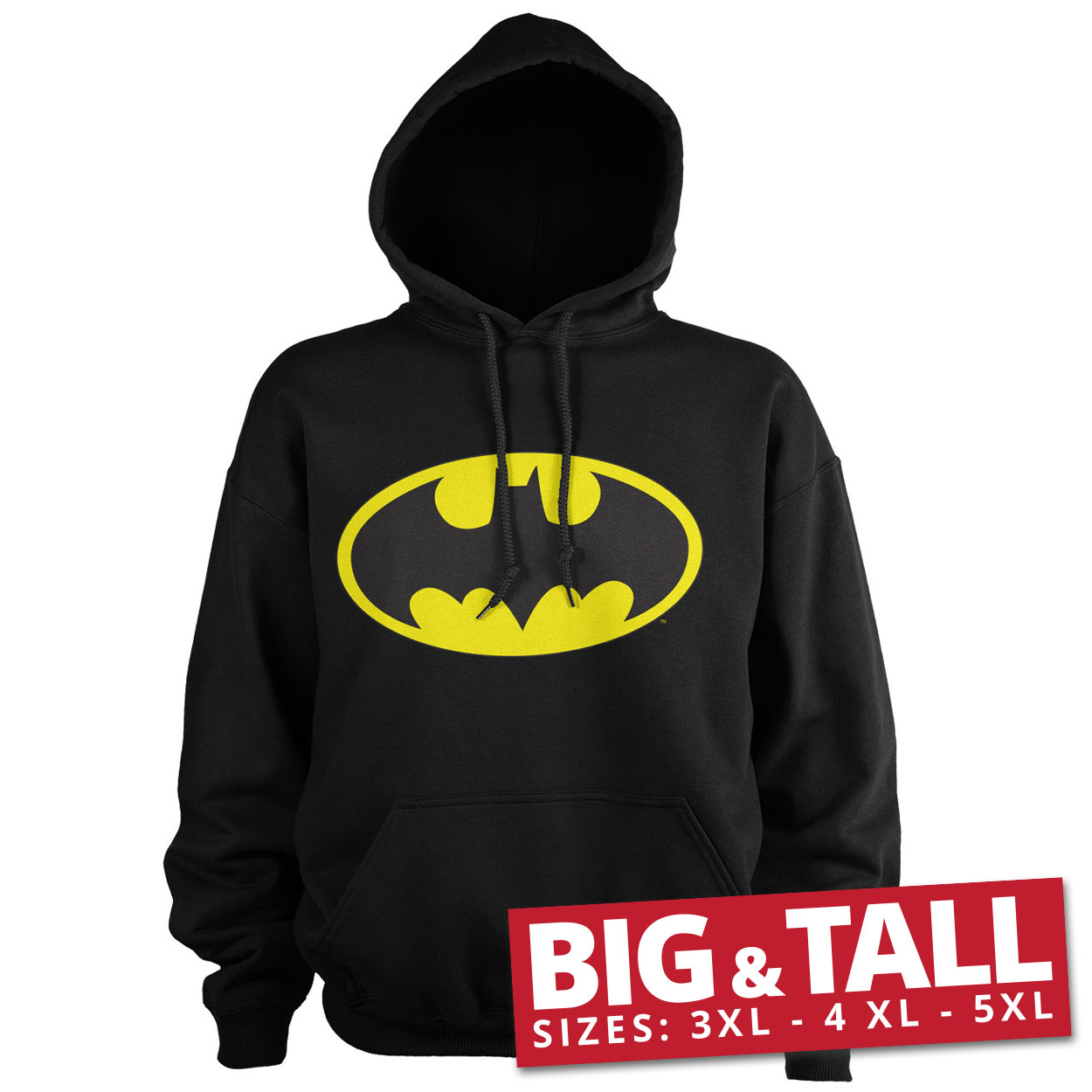 Batman Signal Logo Big & Tall Hoodie