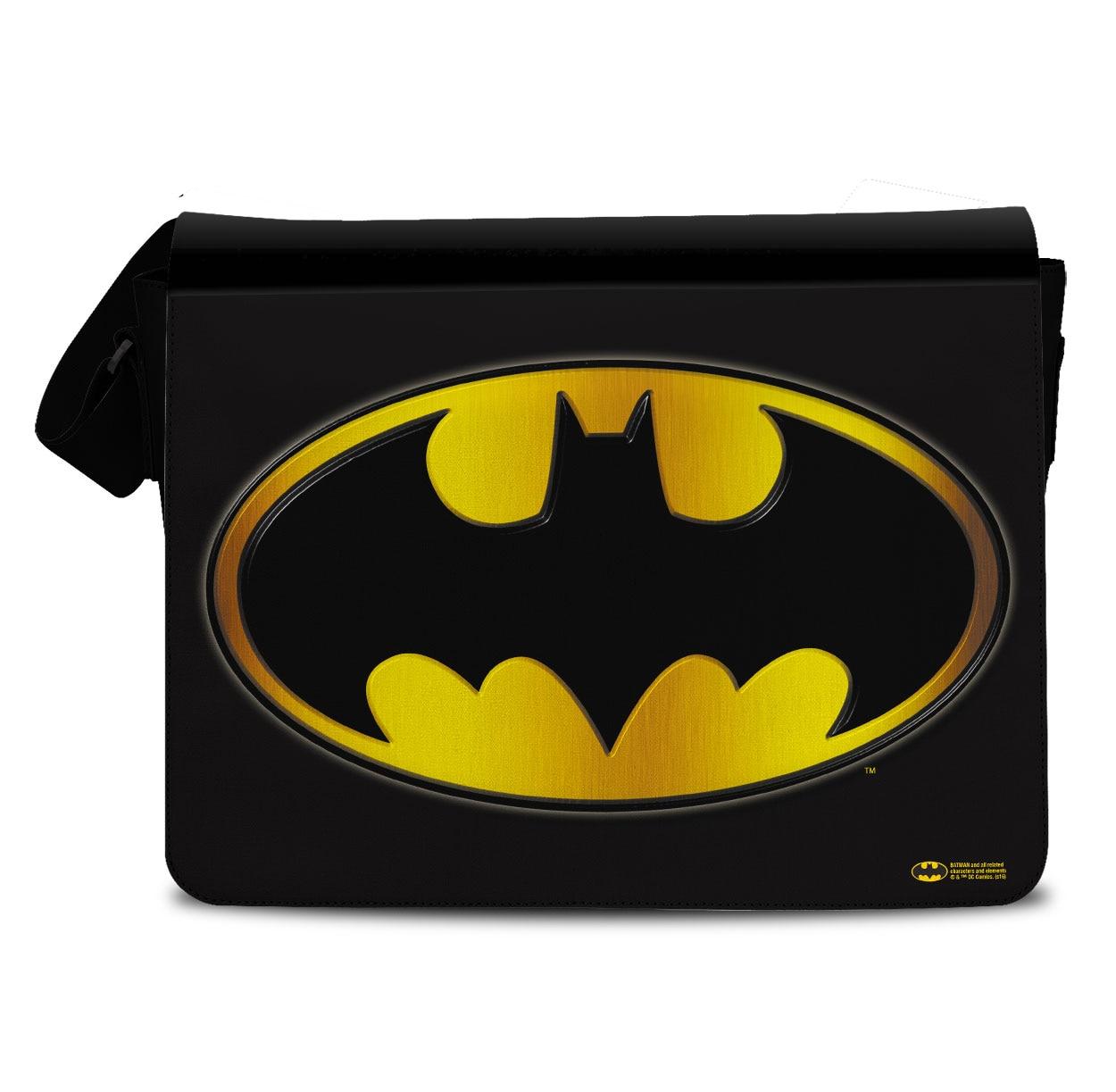 Batman Logo Messenger Bag