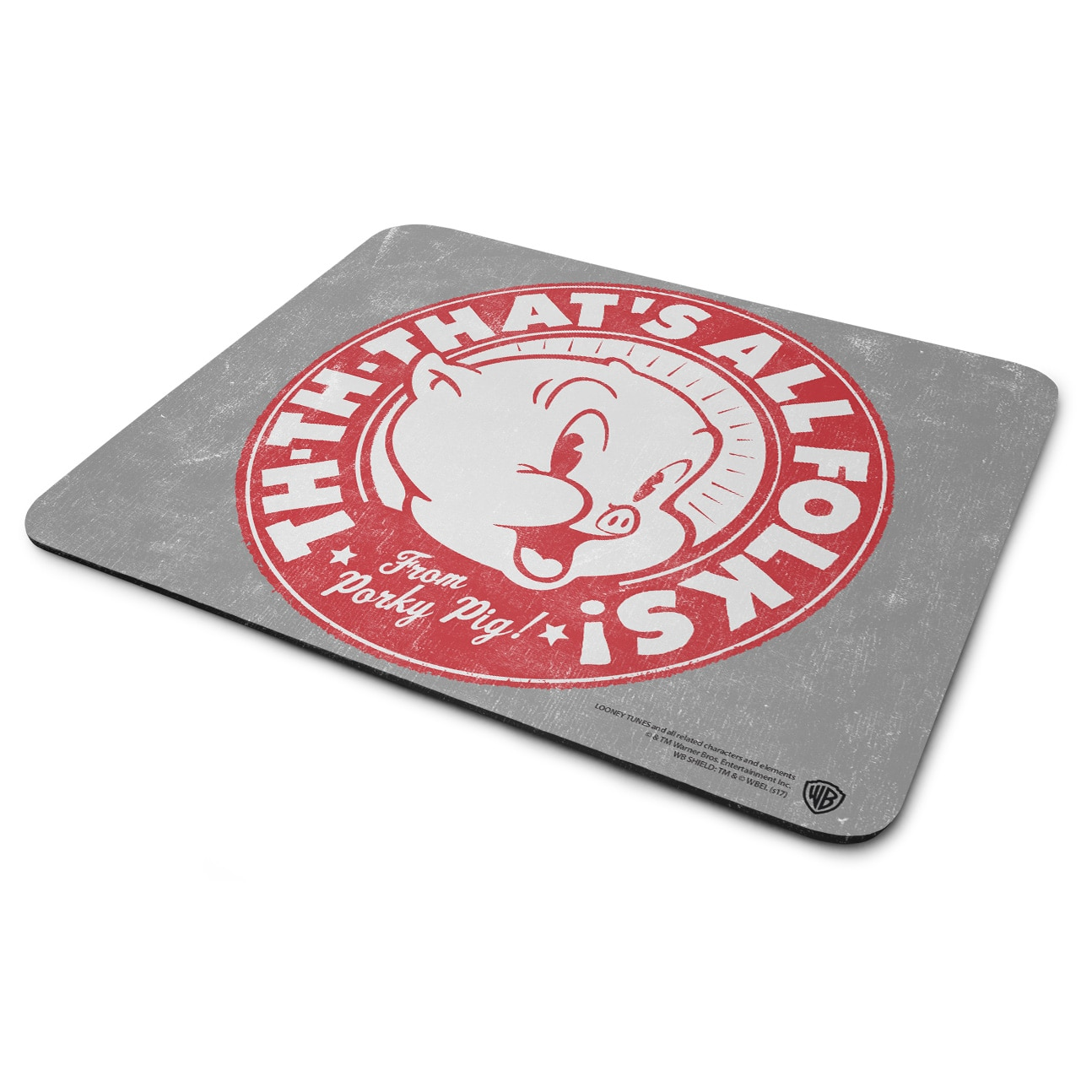 Porky Pig - That's All Folks! Mouse Pad