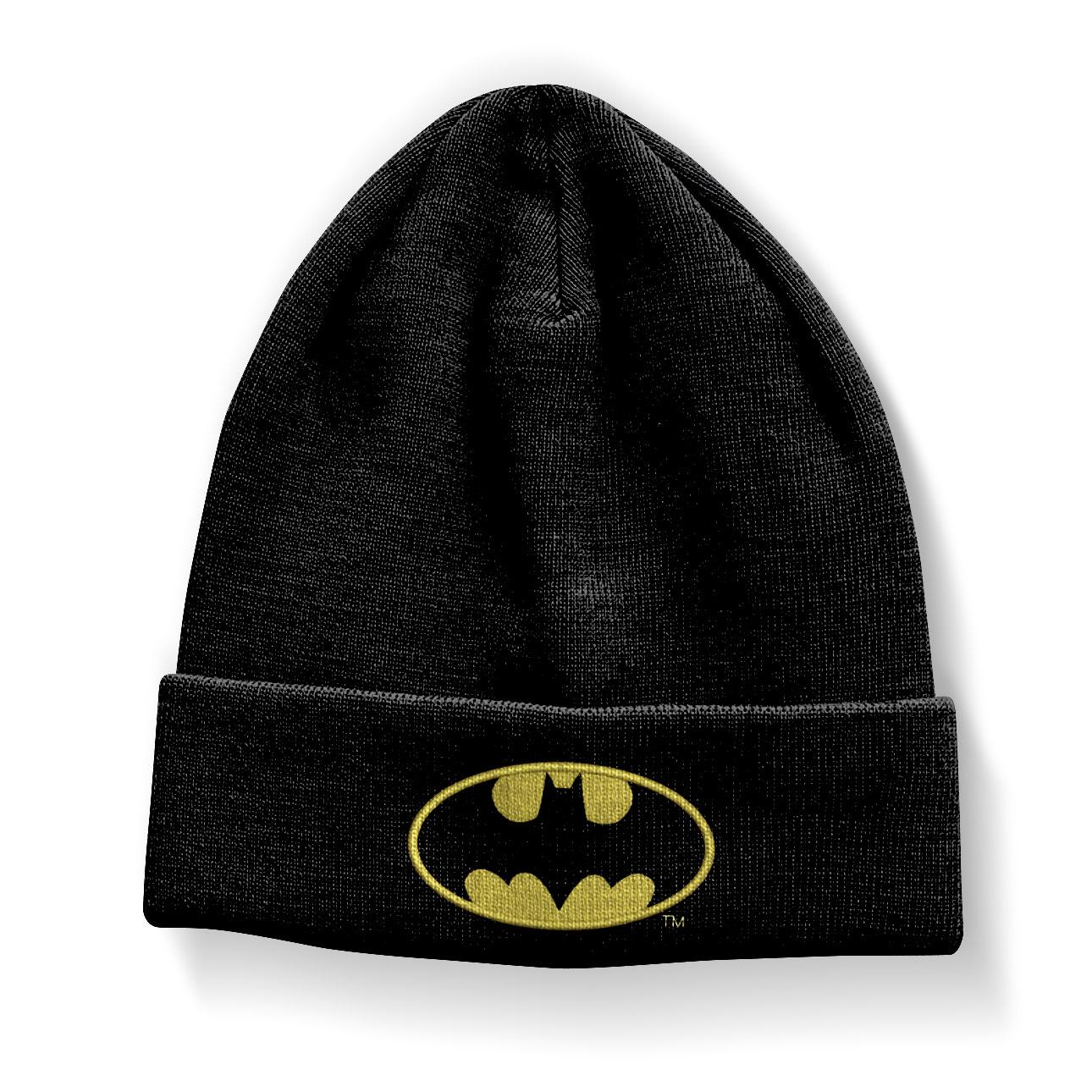 Batman Signal Logo Beanie