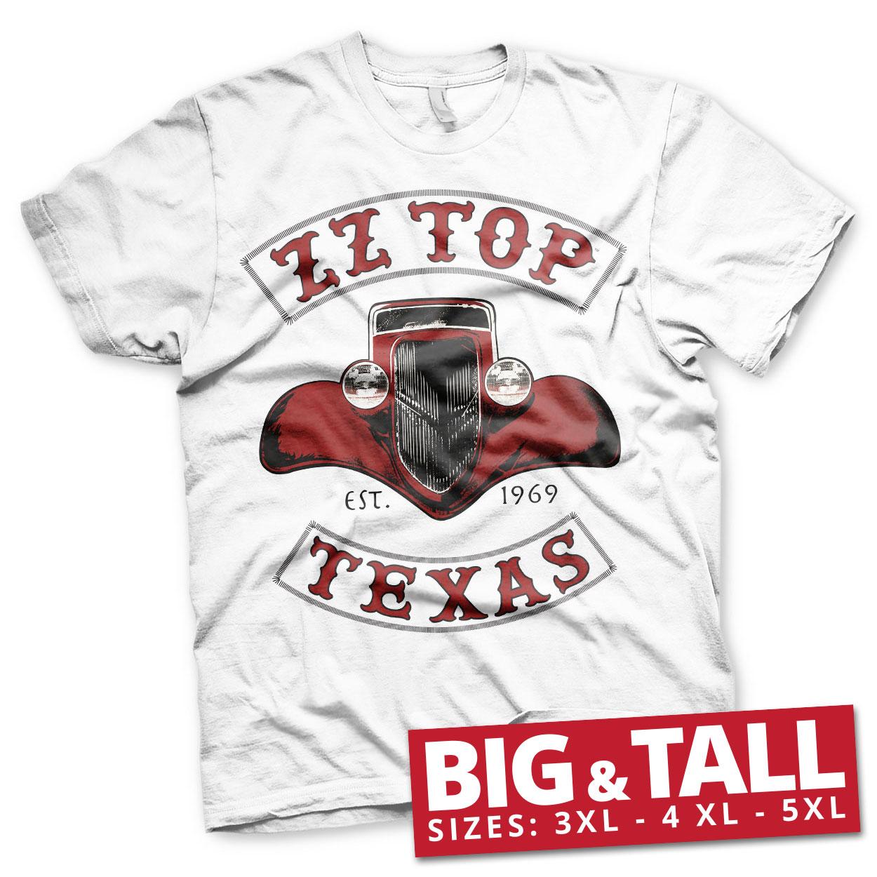 ZZ-Top - Texas 1969 Big & Tall T-Shirt