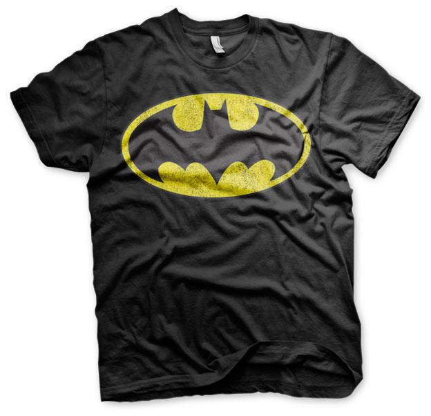 Batman Distressed Logo T-Shirt