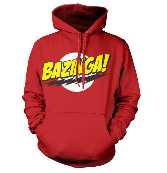 Bazinga Super Logo Hoodie