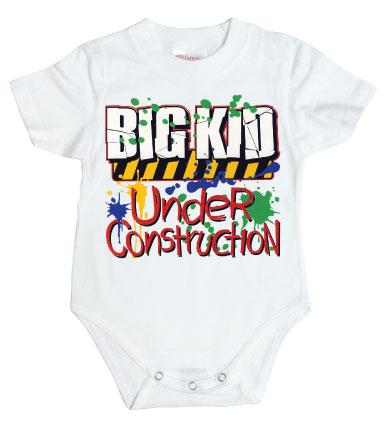 Big Kid Under Construction