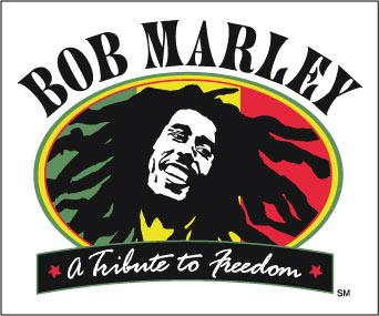 Bob Marley Freedom sticker.