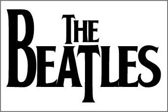 The Beatles sticker.