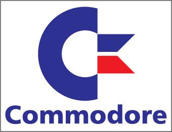 Commodore sticker.