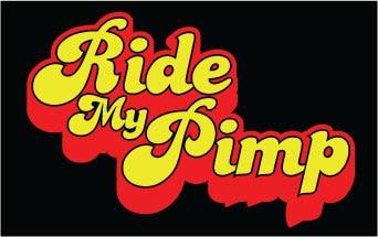 Ride My Pimp dekal.