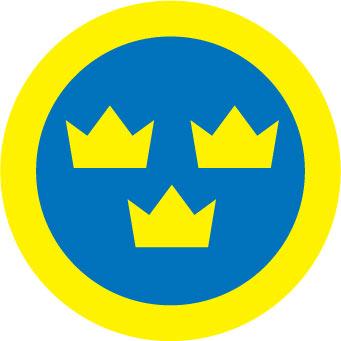 Swedish Airforce sticker.