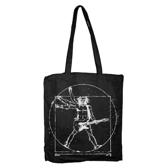 Da Vinci Rock Man Tote Bag